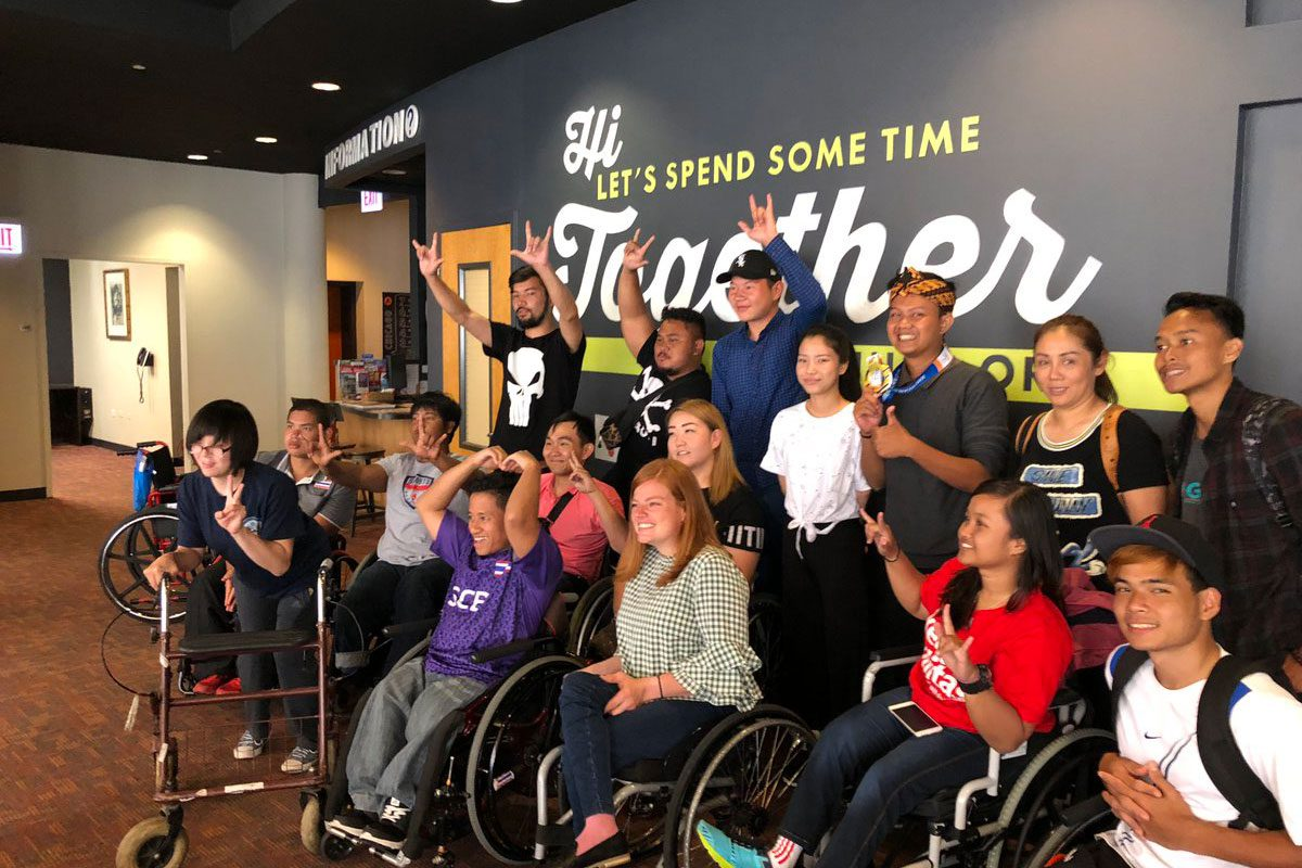 Regional Youth Wheelchair Basketball Program at Hostelling
